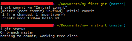 commit file